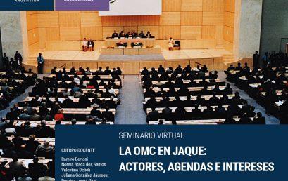 """Seminario """"La OMC en jaque"""""""